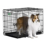 Midwest iCrate Double Door Folding Crate