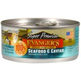 Evanger's® Super Premium Seafood & Caviar Canned Cat Food