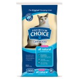 Premium Choice® All Natural Unscented Clumping Cat Litter