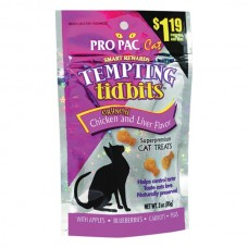 Pro Pac® Tempting Tidbits™ Crunchy Treats Chicken and Liver