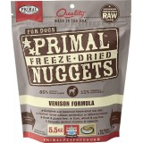 Primal™ Freeze-dried Nuggets for Dogs Venison Formula