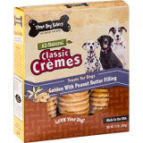 Three Dog Bakery® Classic Cremes with Peanut Butter Filling