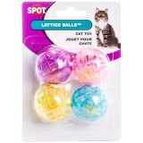 Spot® Lattice Balls 4pk Cat Toy