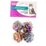 Spot® Mylar Balls 4pk Cat Toy