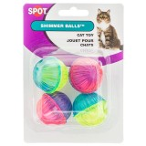 Spot® Shimmer Balls 4pk Cat Toy