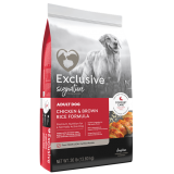 Exclusive® Signature Chicken & Brown Rice Dog Food