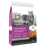 Exclusive® Signature Chicken & Brown Rice Cat Food