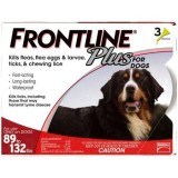 Frontline® Plus for Dogs 89 - 132 lbs.