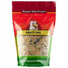 Happy Hen Party Mix Oat & Mealworm Blend