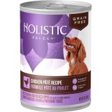 Holistic Select® Chicken Pâté Canned Dog Food