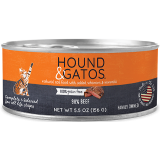 Hound & Gatos Beef Canned Cat Food