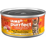 Iams® Purrfect Delights™ Chicken Dinner Flaked Canned Cat Food