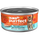 Iams® Purrfect Delights™ Salmon-dipity Pâté Canned Cat Food