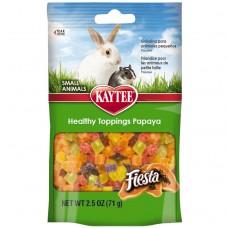 Kaytee® Healthy Toppings Papaya Treat