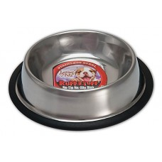Loving Pets™ Ruff-N-Tuff® No-Tip Stainless Steel Dog Dish