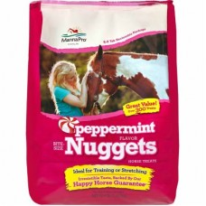 Manna Pro® Bite-Size Nuggets Horse Treats Peppermint Flavor