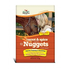 Manna Pro® Bite-Size Nuggets Horse Treats Carrot & Spice Flavor