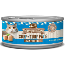 Merrick® Purrfect Bistro Grain Free Surf + Turf Canned Cat Food