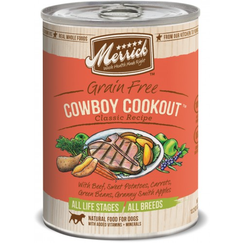 Merrick® Grain Free Cowboy Cookout™ Canned Dog Food