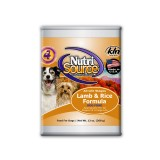 NutriSource® Lamb & Rice Canned Dog Food