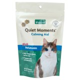 NaturVet® Quiet Moments® Calming Aid Plus Melatonin Soft Chews Cat