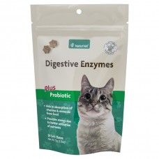 NaturVet® Digestive Enzymes Plus Probiotics Soft Chews Cat