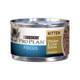 Purina® Pro Plan® Focus Kitten Chicken & Liver Canned Cat Food