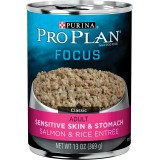 Purina® Pro Plan® Focus Sensitive Skin & Stomach Adult Canned Dog Food