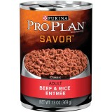 Purina® Pro Plan® Savor® Beef & Rice Adult Canned Dog Food