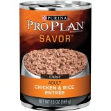Purina® Pro Plan® Savor® Chicken & Rice Adult Canned Dog Food