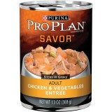 Purina® Pro Plan® Savor® Chicken & Vegetables Adult Canned Dog Food