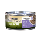 Purina® Pro Plan® True Nature Grain Free Whitefish & Salmon Canned Cat Food