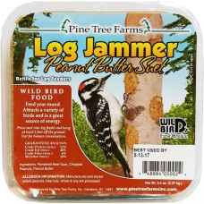 Pine Tree Farms Log Jammer Peanut Butter Suet 3 pk