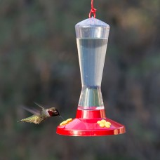 Perky Pet® Garden Song® Clear Plastic Hummingbird Feeder