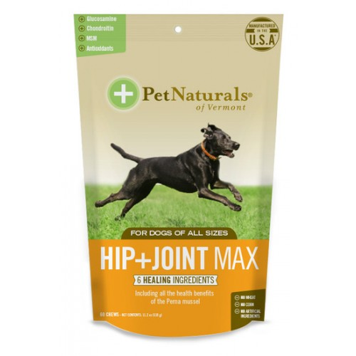Pet Naturals Hip Joint Max Chews For All Dogs