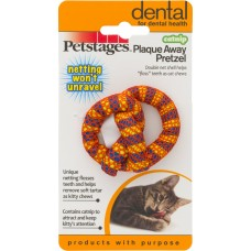 Petstages™ Catnip Plaque Away Pretzel