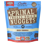 Primal™ Freeze-dried Nuggets for Dogs Duck Formula