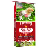 Purina Mills® Start & Grow® Medicated Chick Feed