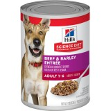 Hill's® Science Diet® Adult Beef & Barley Entrée Canned Dog Food