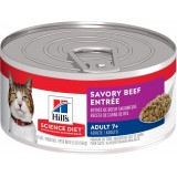 Hill's® Science Diet® Adult 7+ Savory Beef Entrée Canned Cat Food