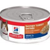 Hill's® Science Diet® Adult 7+ Savory Turkey Entrée Canned Cat Food
