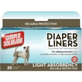 Simple Solution® Diaper Liners Light 22pk