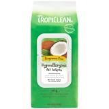 TropiClean® Hypoallergenic Wipes