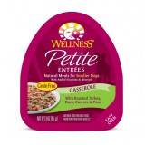Wellness® Petite Entrées Casserole with Roasted Turkey Dog Food