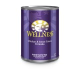 Wellness® Complete Health Chicken & Sweet Potato Canned Dog Food
