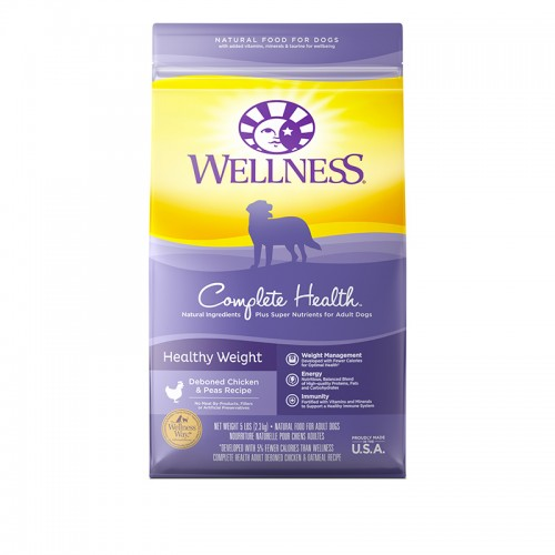 Wellness Complete Health Healthy Weight Dog Food