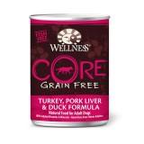 Wellness® CORE® Turkey, Pork Liver, & Duck Canned Dog Food