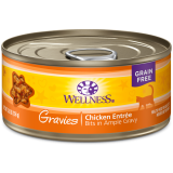 Wellness® Complete Health™ Gravies Chicken Dinner Canned Cat Food