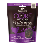 Wellness® CORE® Petite Treats with Turkey, Pomegranate & Ginger