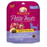 Wellness® Petite Treats Soft Mini-Bites with Turkey, Pomegranate & Ginger